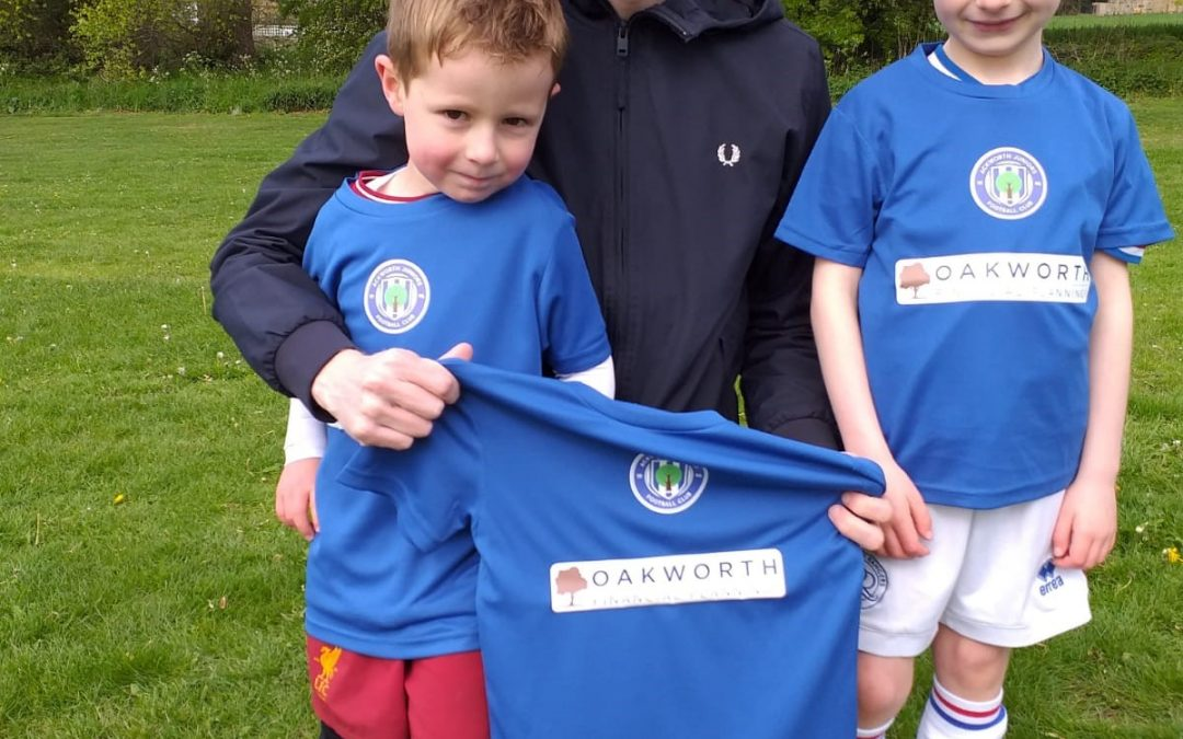 Oakworth Proudly Sponsor The Ackworth Juniors 'Kickabout Club'