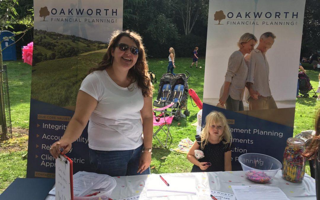 Oakworth at the Friarwood Festival